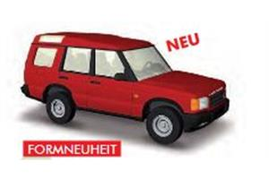 Busch H0 Land Rover Discovery, rot