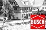Busch Z Bahnübergänge und Warnblinkanlagen