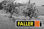 Faller H0 Bäume, Sträucher, Hecken, Wiesen, Felder