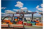 Faller H0 Containerbrücke