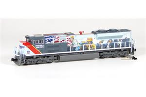 Kato N UP Diesellok SD70ACe #1111, Powered by our People