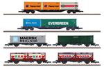 Märklin Z DB AG Containertragwagen-Set, Ep. V, 6-tlg.
