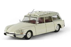Brekina H0 Citroen DS Break weiss/grau