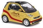 Busch H0 Smart Fortwo 2012 Lindt, gold