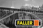 Faller H0 Brücken, Mauern, Tunnel