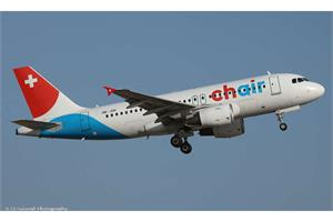 Herpa 1:200 Chair Airlines Airbus A319, HB-JOH