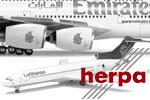 Herpa 1:500 Internationale Flugzeuge