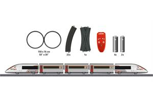 Märklin H0 MyWorld (Sound) SBB/SNCF Startset TGV Lyria (Batteriebetrieb)