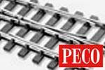 Peco 0 Code 124 Gleis