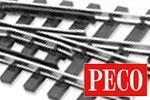 Peco H0e Code 80 Gleis