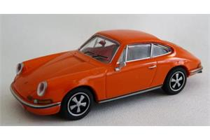 Brekina H0 Porsche 911 S Coupé orange