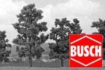 Busch H0 Bäume, Sträucher, Hecken, Wiesen, Felder