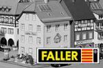 Faller H0 Bausätze Stadt, Land, Wohnen