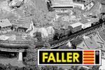 Faller Z Unterbau, Gleisbau, Fertiganlagen