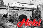 Heki H0 Brücken, Mauern, Tunnel