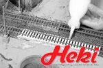 Heki H0 Unterbau und Gleisbau