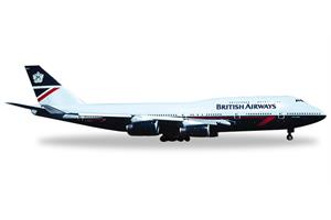 Herpa 1:500 British Airways Boeing 747-400 (Landor)