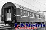 LS Models H0 SBB Schlaf- und Liegewagen