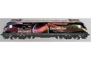 RailAd H0 (DC Digital) ÖBB Elektrolok BR 1116 Eurovison Song Contest