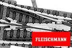 Fleischmann N Profi-Gleis mit Bettung