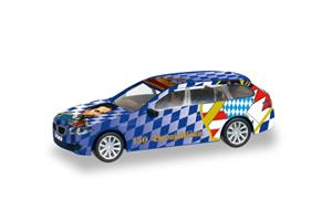 Herpa H0 BMW 5er Touring 150. Thronjubiläum