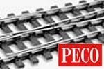 Peco 0 Code 143 Gleis