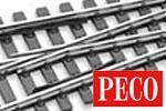 Peco H0m Code 75 Gleis