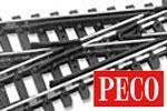 Peco N Code 80 Gleis
