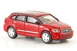 Ricko H0 Dodge Caliber, metallic-rot, 2007