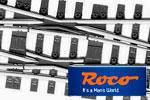Roco H0 Line Gleis mit Bettung